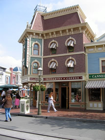 Reviews of Disneyland Main Street Market House