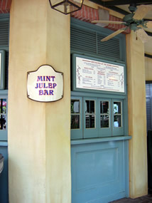 Reviews of Disneyland Mint Julep Bar