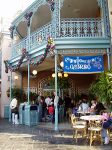 Reviews of Disneyland Royal Street Veranda