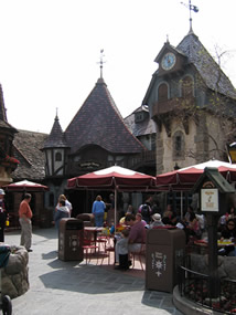 Reviews of Disneyland Village Haus Restaurant
