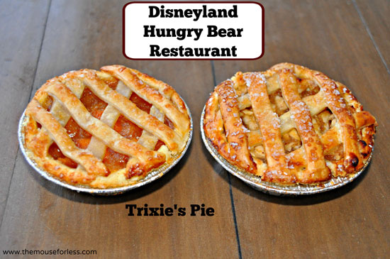 Trixie's Pie from Hungry Bear Restaurant at Disneyland Park