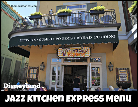 Jazz Kitchen Express Menu Your Quick Stop For Beignets