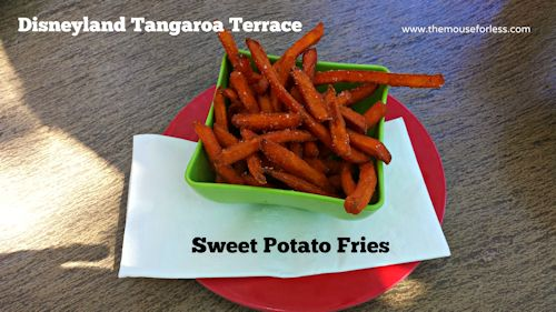 Tangaroa Terrace Sweet Potato Fries