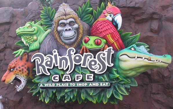 Reviews of Rainforest Cafe at Disney Springs Marketplace