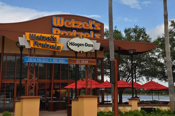 Reviews of Wetzels Pretzels at Disney Springs West Side