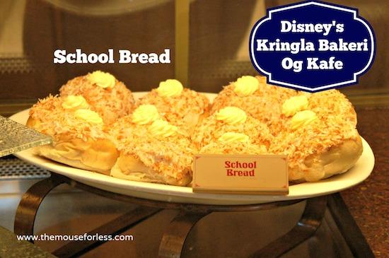 Epcot Kringla Bakery Strawberry Cream Cheese Cake