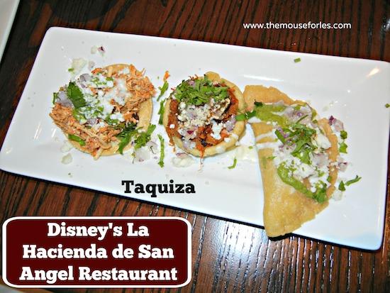 Taquiza - La Hacienda de San Angel Menu at Epcot #DisneyDining #WDW