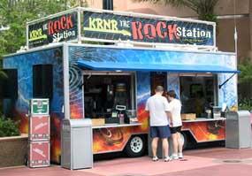 Reviews of KRNR The Rock Station Snacks at Disney Studios