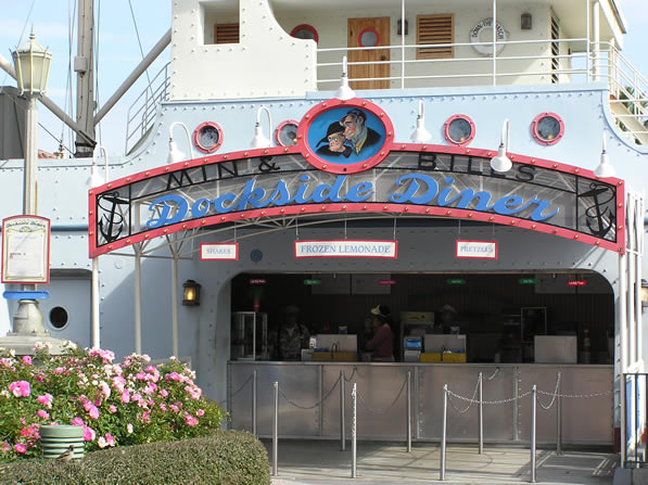Reviews of Min and Bill's Dockside Diner at Disney Studios