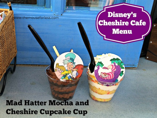 Cupcakes from Cheshire Cafe at the Magic Kingdom #DisneyDining #MagicKingdom