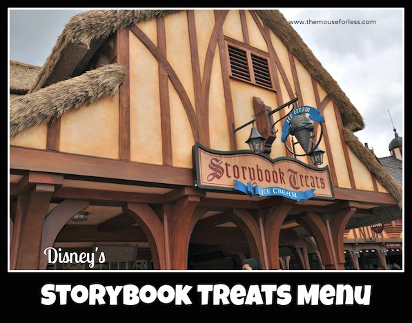 Storybook Treats Menu at the Magic Kingdom #DisneyDining #Walt Disney World