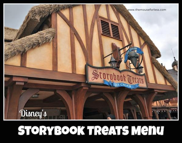 Storybook Treats Menu at the Magic Kingdom #DisneyDining #Walt Disney World