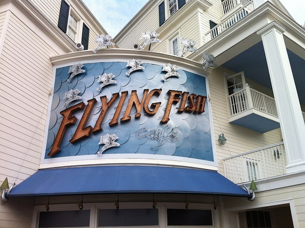 Flying fish cafe menu for Flying fish cafe disney
