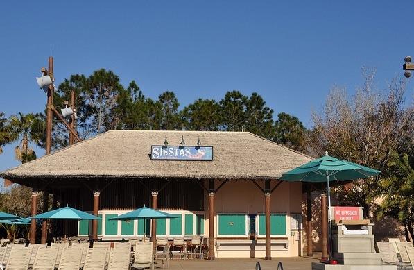 Reviews of Siestas Pool Bar - Disney's Coronado Springs Resort