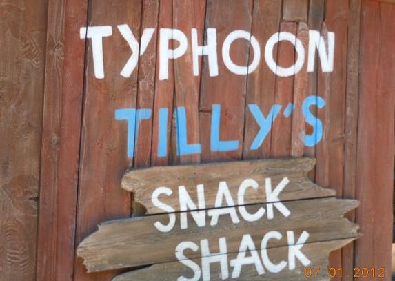 Typhoon Tilly's