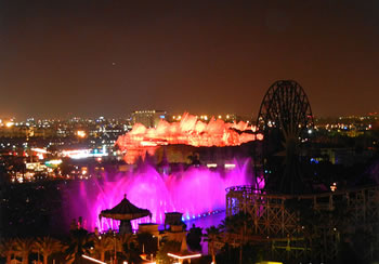 World of Color View