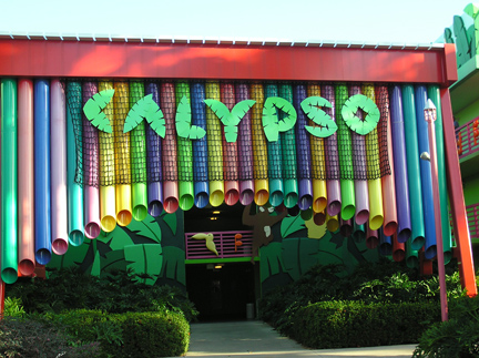 Calypso Building at Disney's All Star Music Resort