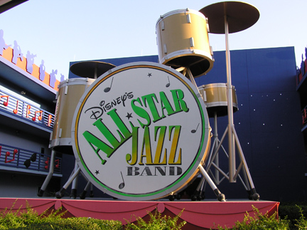 Disney's All Star Music Jazz Building