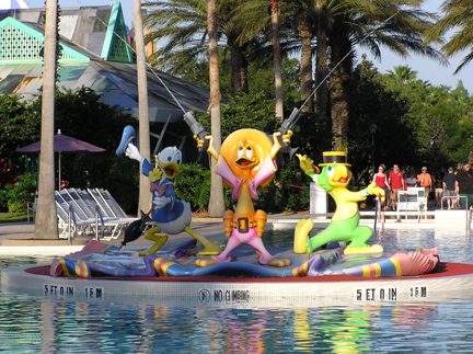 Pool at Disney's All Star Music Resort