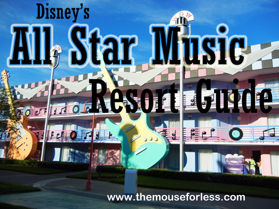 Disney's All Star Music Resort Guide from themouseforless