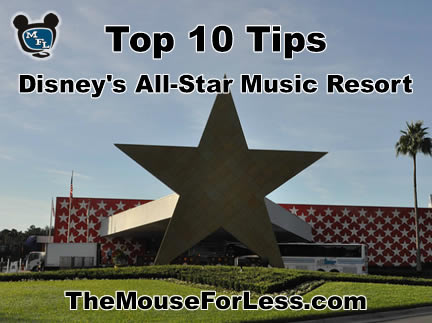 Disney's All-Star Music Resort Tips