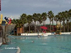 Pool at Disney's All Star Movies Resort