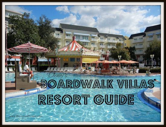 Disney's Boardwalk Villas Resort Guide from themouseforless.com #DisneyWorld #Vacation