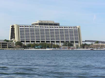 Contemporary Resort Tower