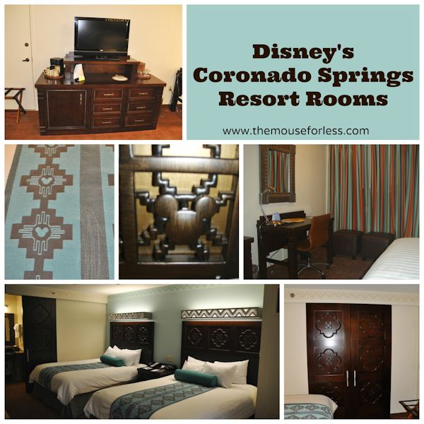 Disney's Coronado Springs Resort Rooms #CoronadoSprings #WaltDisneyWorld