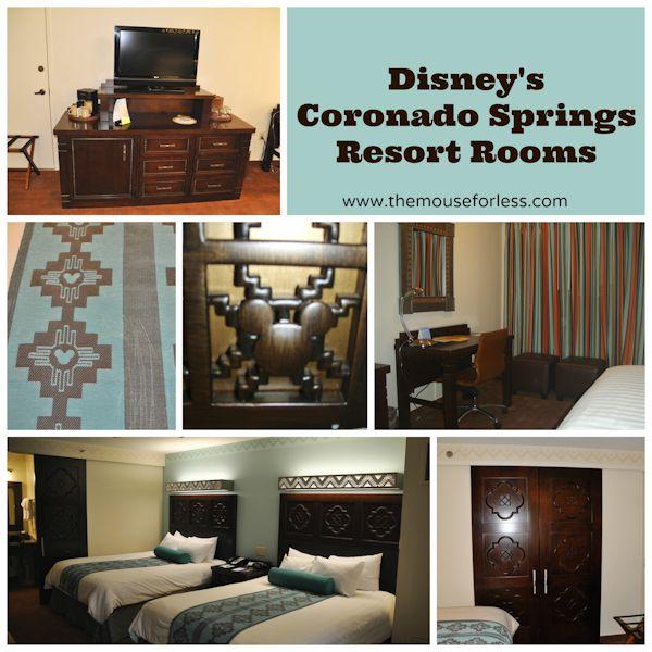 Coronado Springs Resort Rooms #CoronadoSprings #WaltDisneyWorld