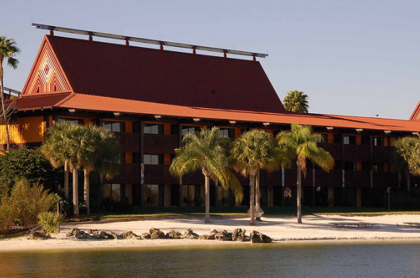 Polynesian Resort Beach