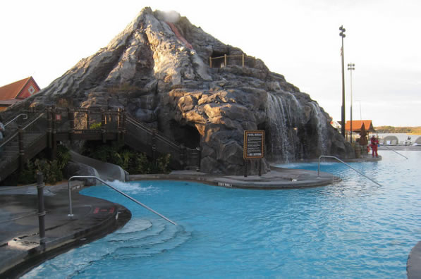 Polynesian Village Resort Top Ten Tips Pool
