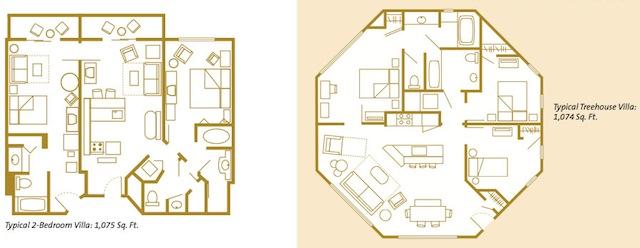 similiar saratoga springs disney treehouse villas floor