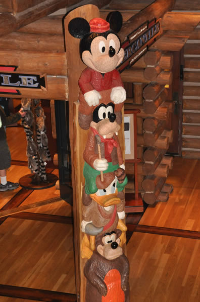 Wilderness Lodge Top Ten Tips Totem Pole