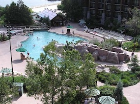 Wilderness Lodge Pool