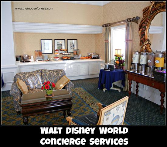Disney Club Level Concierge Services