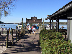Boat Launch at Fort Wilderness Resort