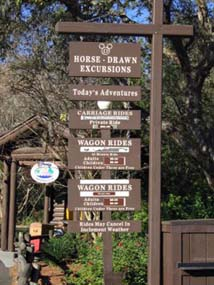 Activities at Fort Wilderness