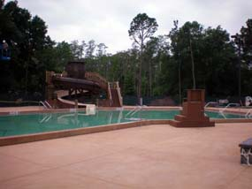 Swimming Pool at Disney's Forl Wilderness Resort