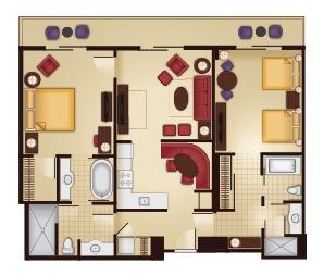 2-Bedroom Floor Plan
