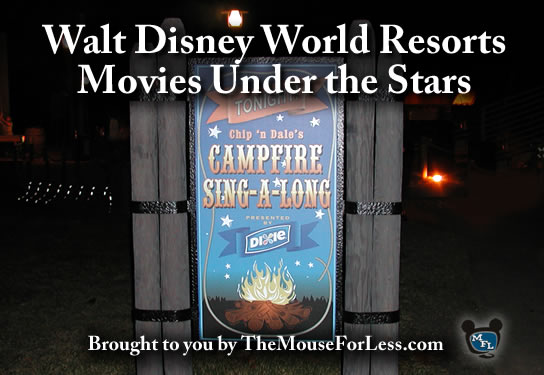 Walt Disney World Movies Under the Stars