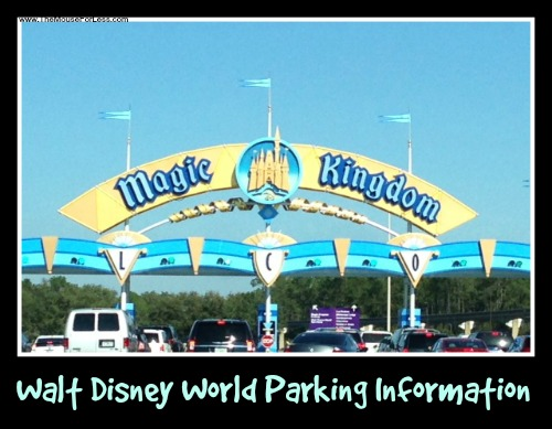 Parking information for guests driving to Walt Disney World