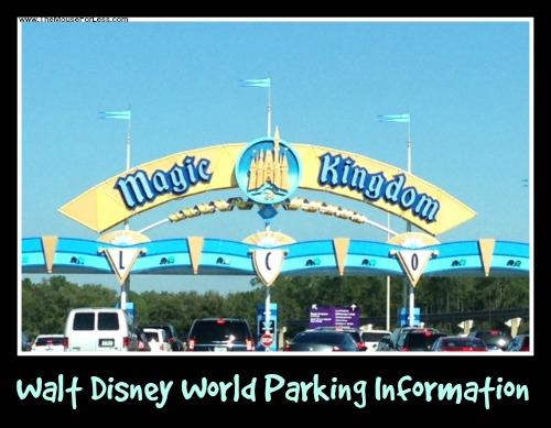 Parking at Walt Disney World
