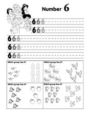 Number Practice Page 6