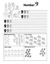 Number Practice Page 9