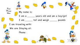 Donald Duck Kids ID