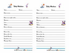 Mickey Mouse Trip Journal
