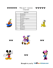 Disney Epcot Homework