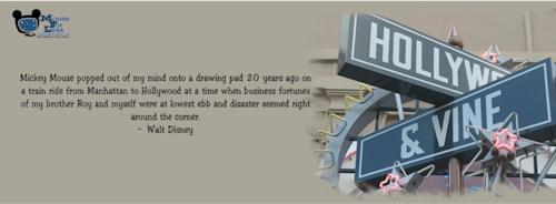 Disney Hollywoood Studios Facebook Cover