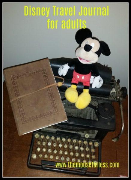 Disney Travel Journal Adults
